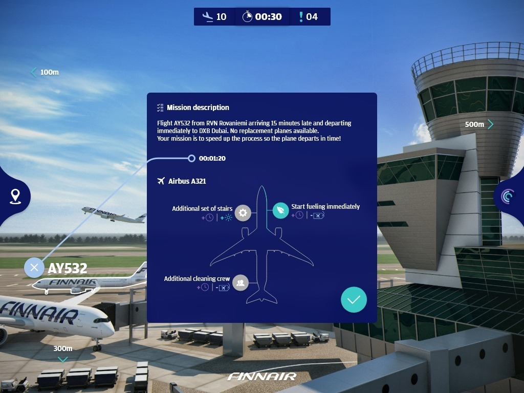 Airport 3D Model Experience